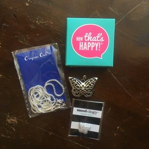 Origami Owl Sentiments Locket Chain and Mood Disc